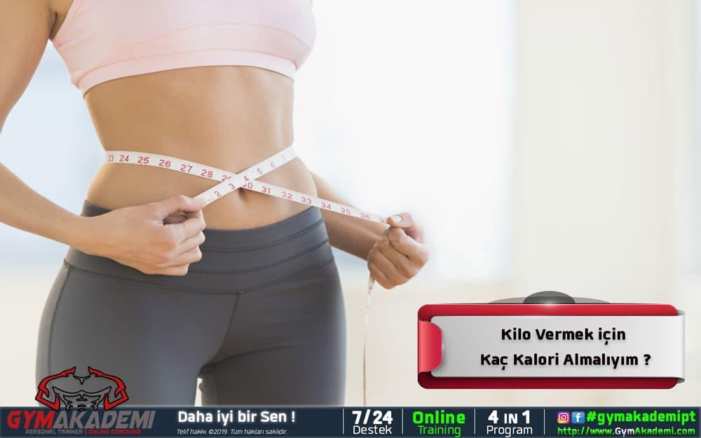Kilo Vermek İçin Kaç Kalori Almalıyım?
