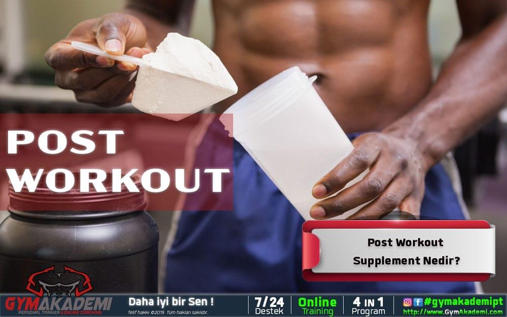 Post Workout / Antrenman Sonrası Supplement
