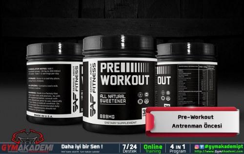 Pre-Workout / Antrenman Öncesi Supplement